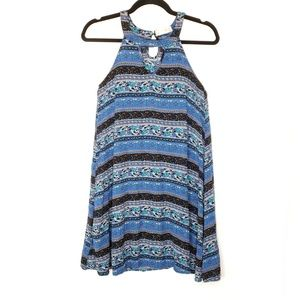 Altar'd State Boho High Neck Flowy Tunic